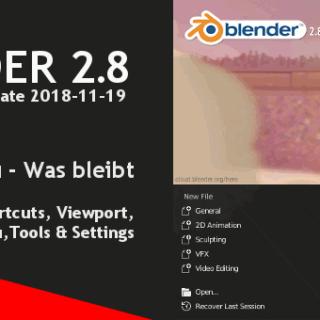 Blender 2.8 Shortcuts