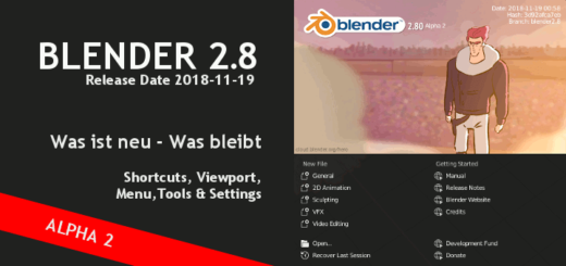 Blender 2.8 Shortcuts