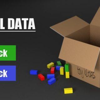 Blender pack & unpack external Data