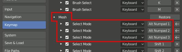 Blender 2.8 Select Modes