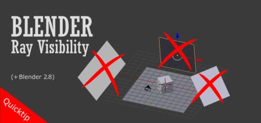 Belnder 2.8 Ray Visibility
