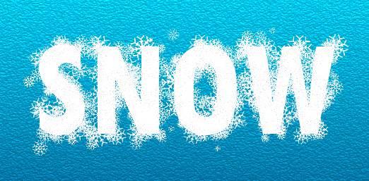 Gimp Snowflakes Font