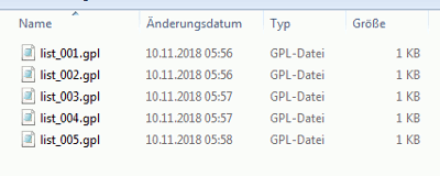 Inkscape GPL-Files
