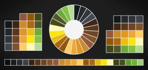 Saubere Farbtabellen in Inkscape
