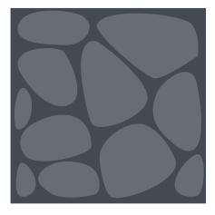 Inkscape colorize Stones