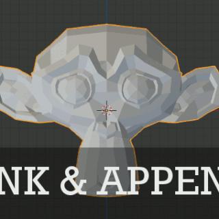 Blender Link & Append Tutorial