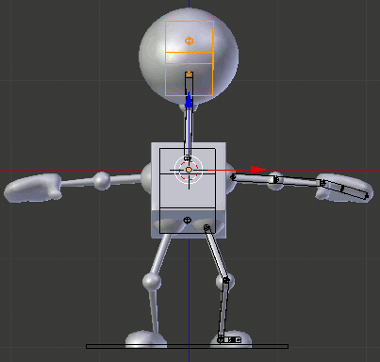 Blender Robot Armature