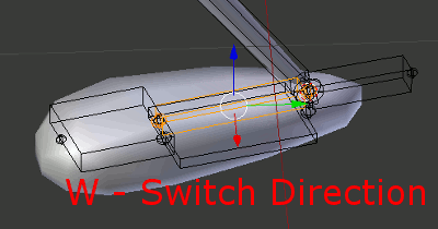 Blender Bones Switch Direction