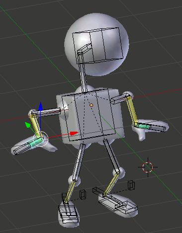 Blender Robot Test Pose