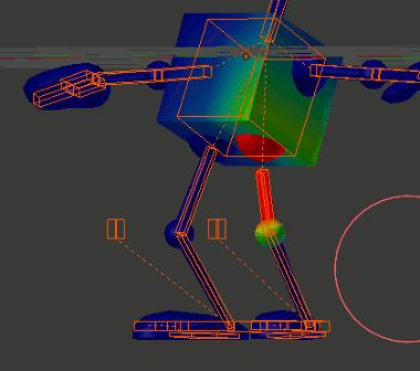 Blender Robot Thigh