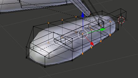 Blender Robot Foot Loop Cut