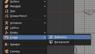 Blender 2.8 add Empty-Image