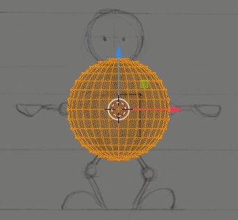 Blender add Sphere