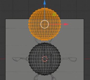 Blender duplicate Sphere