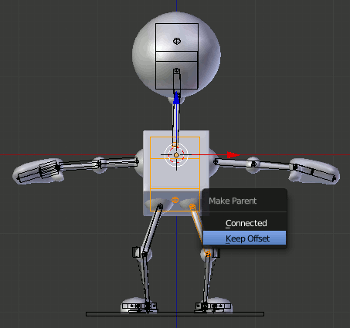 Blender Keep Offset