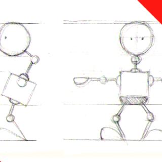 Blender Robot Animation Series Part 1