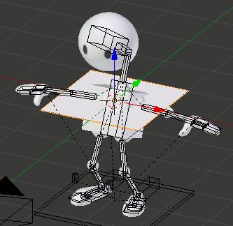 Blender add Plane