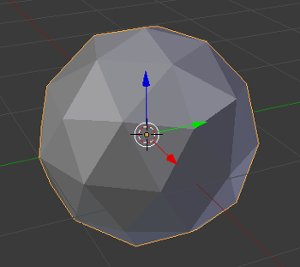 Blender Standard Ico Sphere