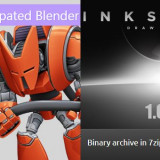 Blender 2.8 beta and Inkscape 1.0 Beta