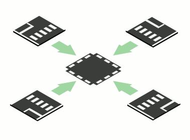 Teilstücke zusammen bauen