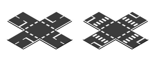 Fertige Kreuzungen, Variationen
