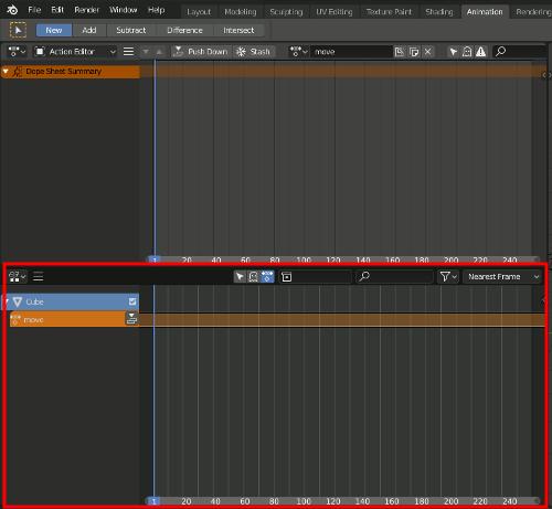 Blender 2.8 - NLA Editor