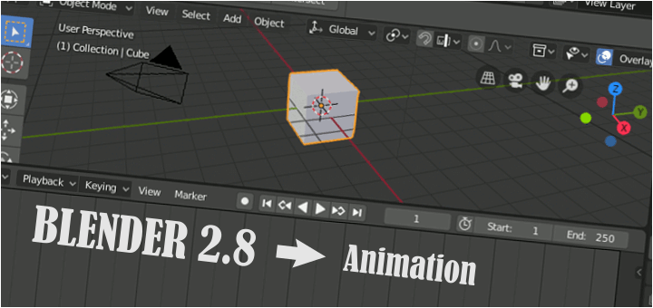 Blender 2.8 Simple Animation