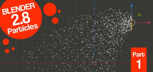 Blender 2.8 Particle System