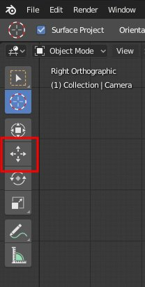 Blender 2.8 Move Tool