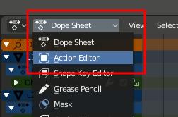 Blender 2.8 - Action Editor