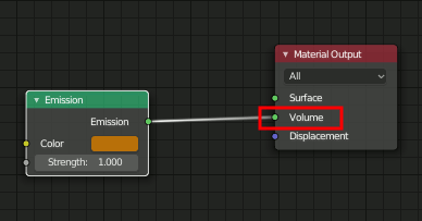 Blender 2.8 Particle Volume Material