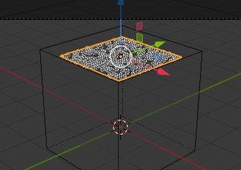 Blender 2.8 Particle Emitter