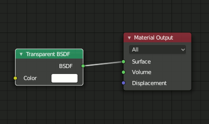 Blender 2.8 Transparent BDSF