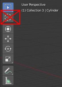 Blender 2.8 Cursor Tool