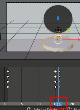 Blender Keyframe Animation