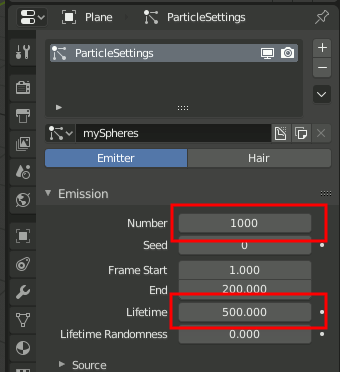 Blender 2.8 Particle Lifetime