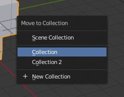 Blender 2.8 Shortcut M