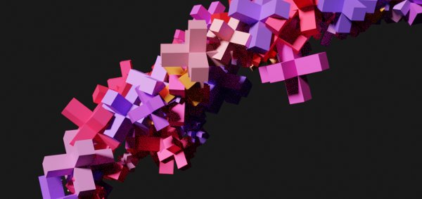 Blender Particle Random Color 2