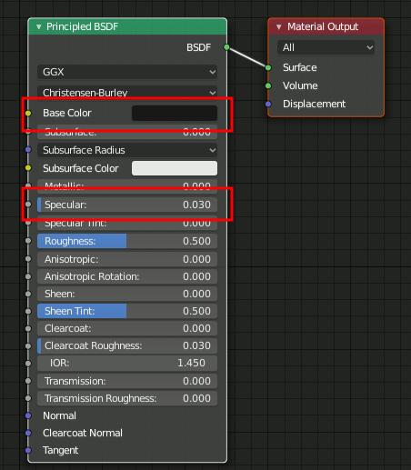 Blender 2.8 Principled BDSF
