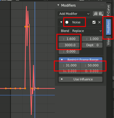 Blender 2.8 - Noise Settings