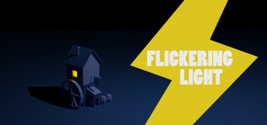 Blender 2.8 Flickering Light