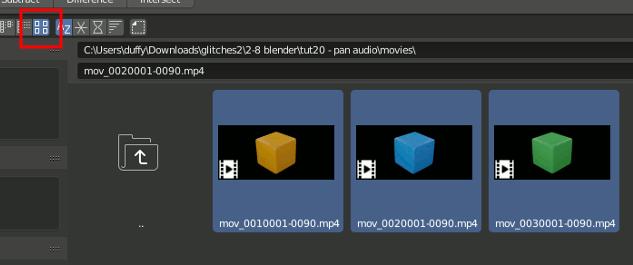 Blender 2.8 Select Movie Clip