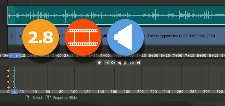 Blender 2.8 Video Sequencer
