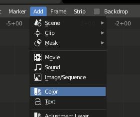 Blnder VSE Add Color