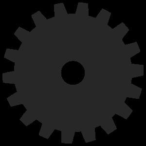 Inkscape Gear - Variation 1
