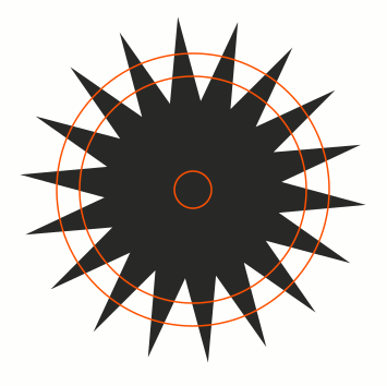 Inkscape Ellipse