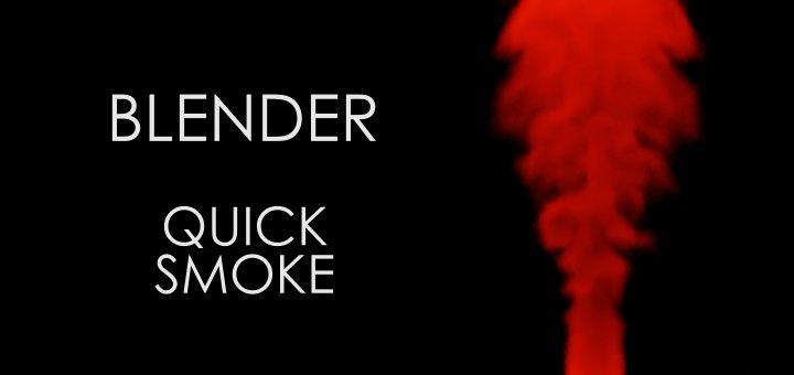 Blender 2.8 Quick Smoke