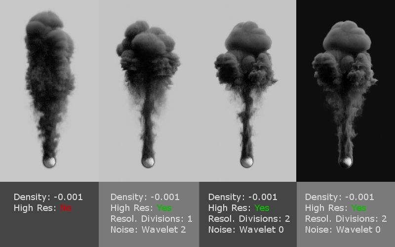 Blender Smoke Desinty (Standard)