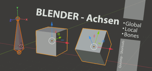 Blender Axis Global & Local