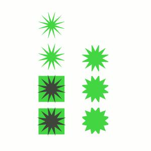 Inkscape Pfad - Überschneidung